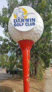 Northern Territory BIG Things   BIG Golf Ball
