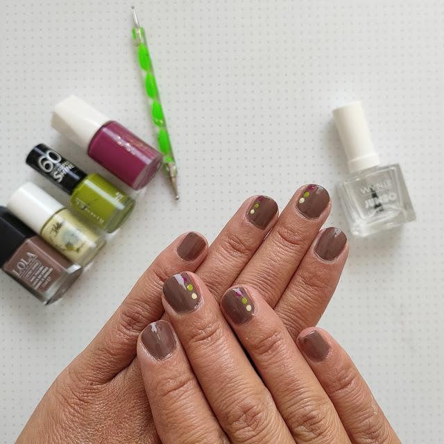 El tutorial de los jueves: Manicura de otoño para uñas cortas 03