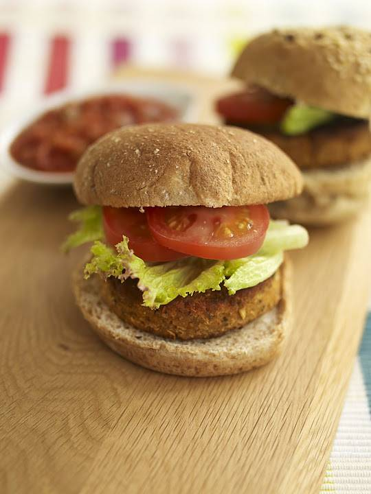 Pesto Butterbean Burgers: Vegans, Soy-Free, Seed-Free