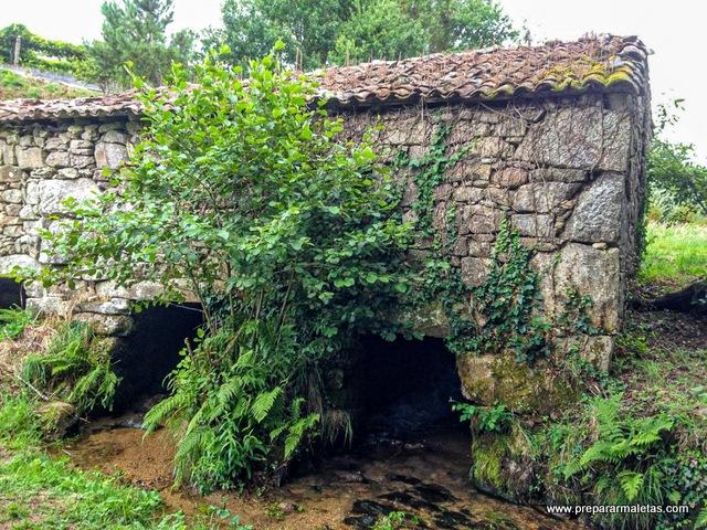 molinos de agua en pontevedra rías baixas