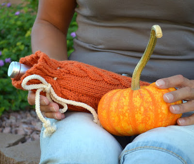 https://www.etsy.com/listing/166195556/wine-bottle-cozy-cable-knit-pumpkin