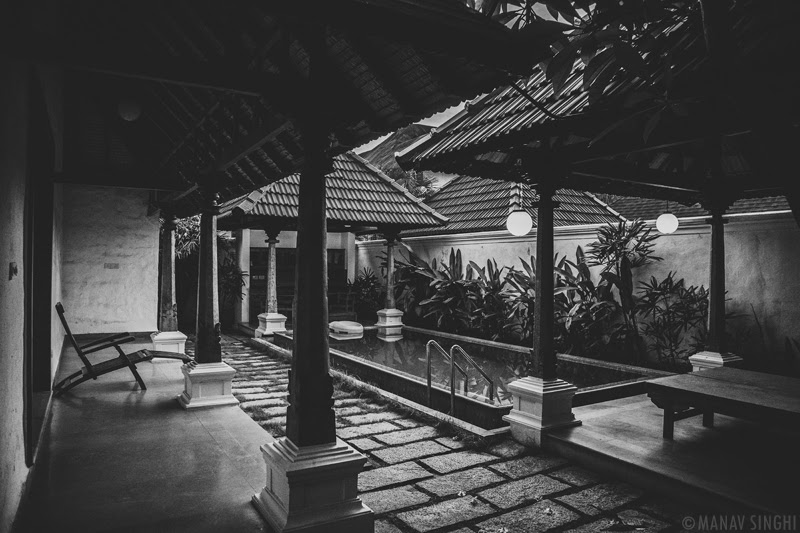 View of Pool area at Luxury Pool Villa, Le Pondy Beach Resort, Pondicherry- 31-Oct-2019