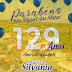 A professora Silvania e o deputado Alex da Piatã está parabenizando  os 129 Anos de Emancipação Política de São Miguel das Matas