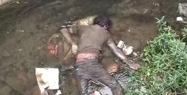 INDORE NEWS : घर से सब्जी लेने निकले गये युवक की लाश 20 फीट गहरे नाले में मिली