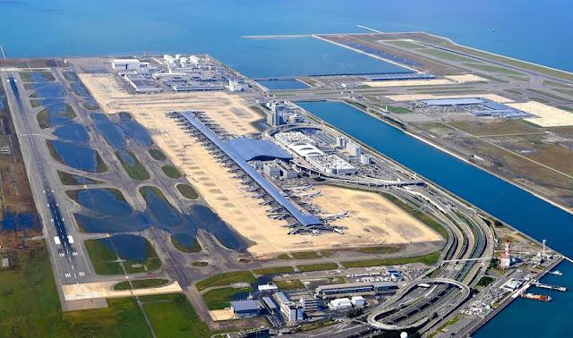 Khám phá siêu sân bay nổi trên mặt biển ở Nhật Bản