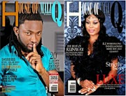 Uti Nwachukwu and Daniella Okeke has been tapped for the cover of House of Maliq's October 2014 Issue