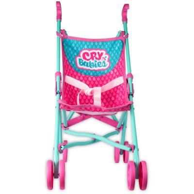 BEBÉS LLORONES Sillita de paseo  Cry Babies - Stroller  Producto Oficial 2019 | IMC Toys 99999 | A partir de 18 meses  COMPRAR ESTE JUGUETE