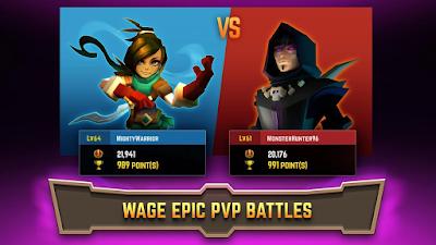 Legacy Quest: Rise of Heroes v1.9.107 Mod Apk Terbaru