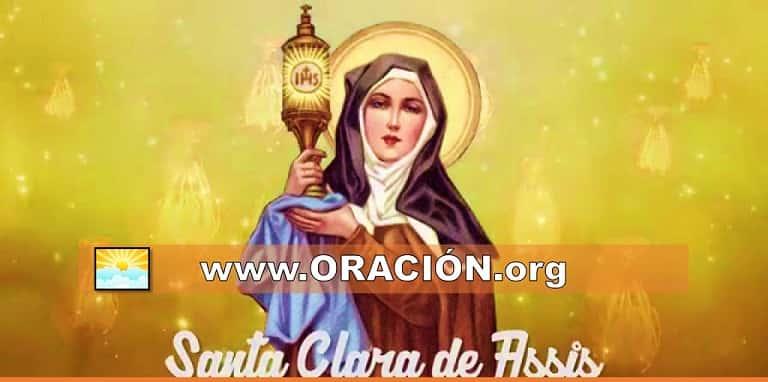 Oración a Santa Clara de Asís para un Milagro Urgente y Rápido