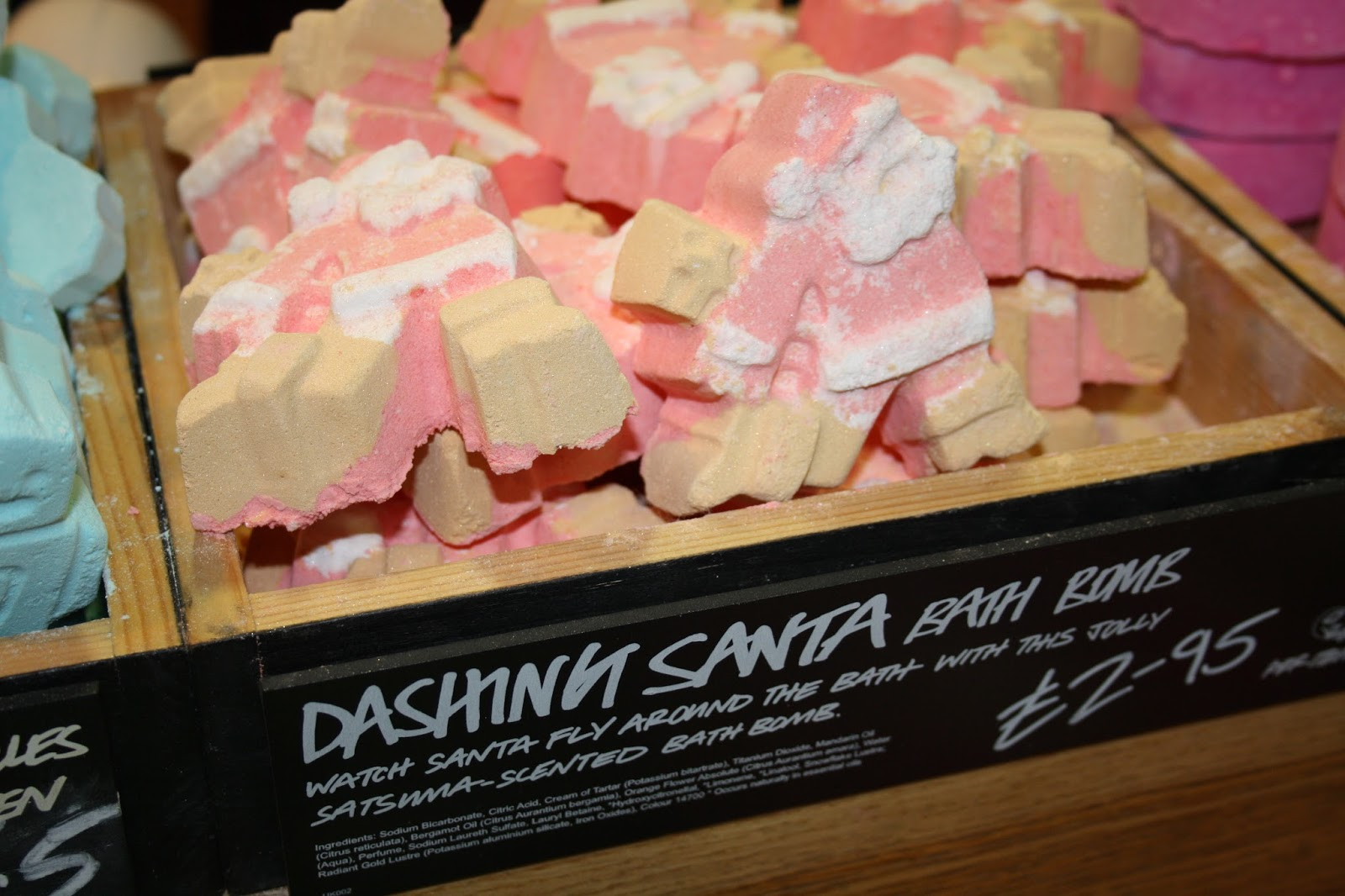 Lush Christmas Launch 2014