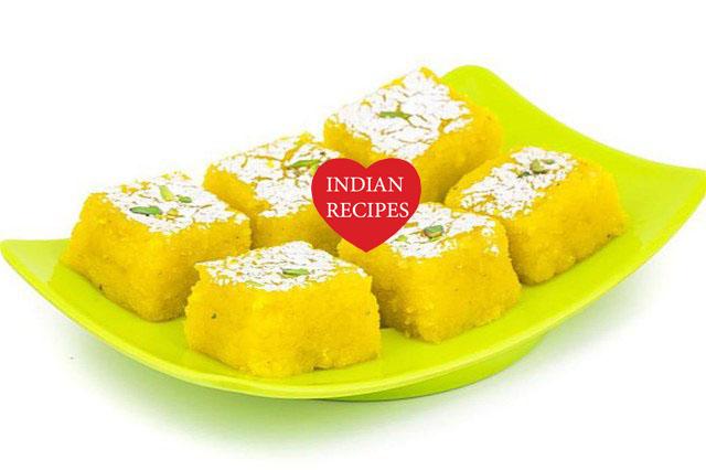 How to make Cashew Barfi - Kaju Barfi Recipe