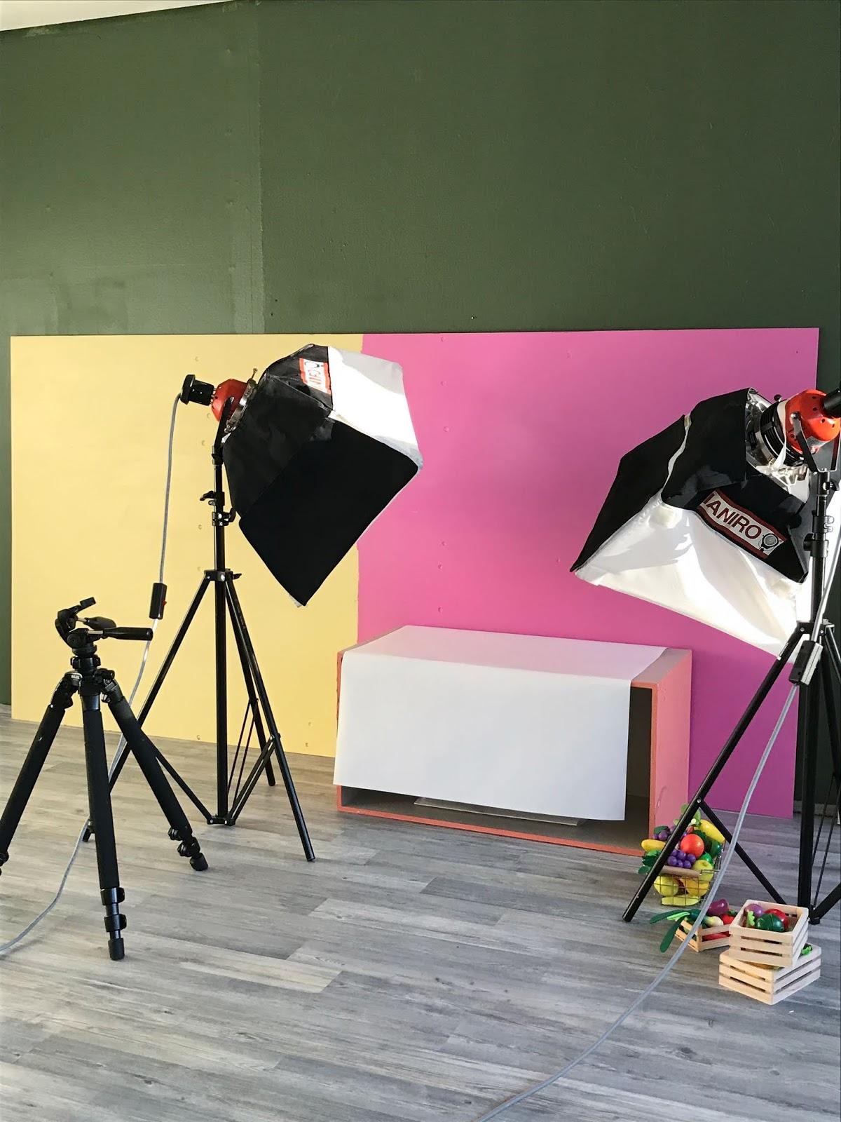 Kuvauksen setup
