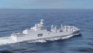 """Fincantieri: ordine per la Marina francese sul progetto di nave """"Vulcano"""""""