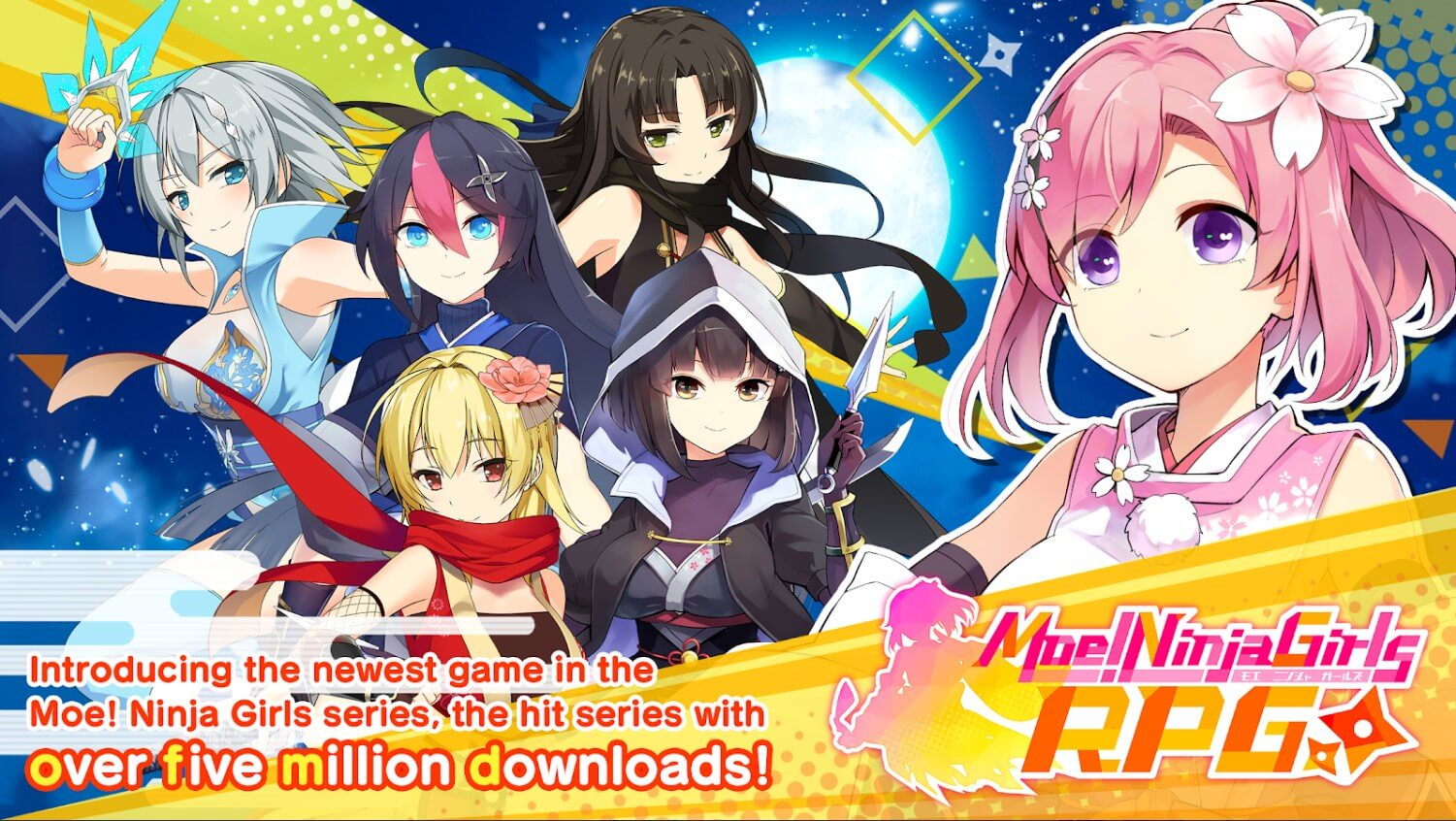 Moe! Ninja Girls RPG: SHINOBI - Global Launch