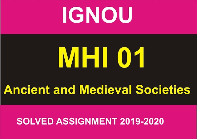 MHI 01 Solved Assignment