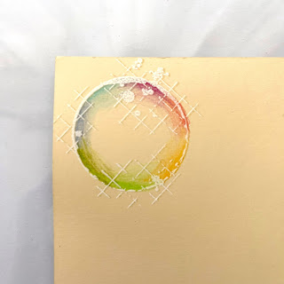 Coloured Bubble stamp