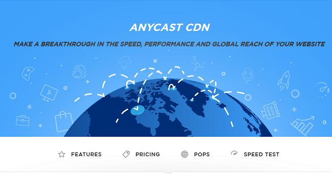 Anycast CDN