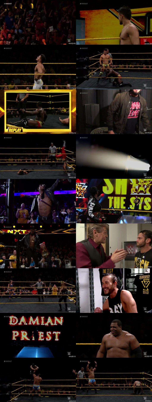 Screen Shot Of WWE NXT 24th July 2019 HDTV 480P 300MB