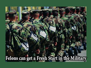 Felons can get a Fresh Start in the Military