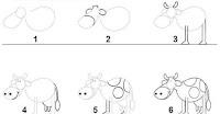 تعلم رسم حيوانات سهلة 2