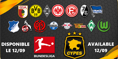 eFootball PES 2020 PS4/PC Bundesliga Patch by CYPES