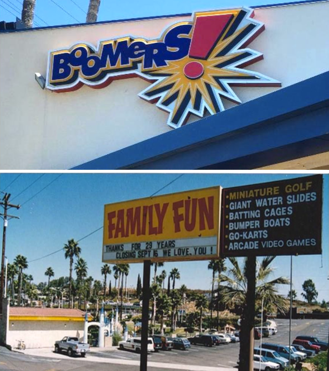 Sandiegoville Boomers To Revive As San Diego Family Fun Center Under Original Ownership