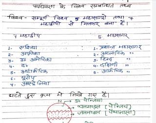 Environment notes pdf in Hindi