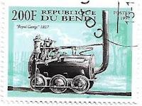 Selo Locomotiva Royal George 1827