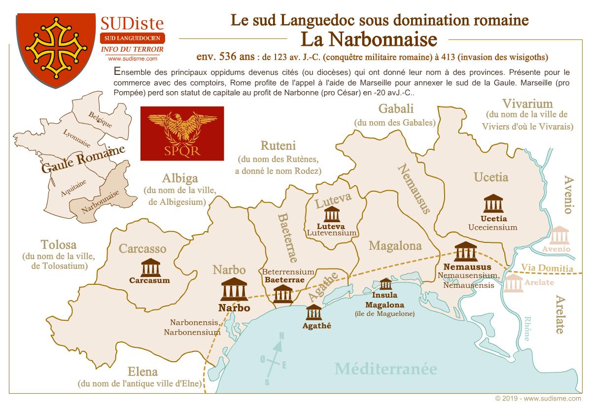 La Narbonnaise et le Languedoc