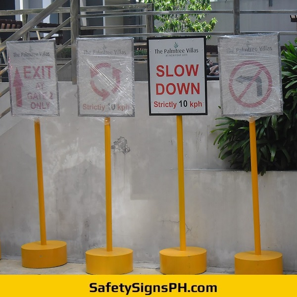 Directional Signs With Concrete Base Philippines