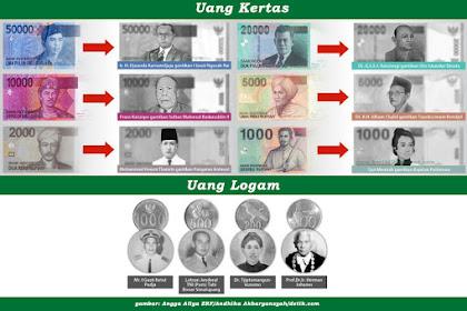 Bocoran Desain Uang Rupiah Baru Bank Indonesia dengan Gambar Pahlawan Baru