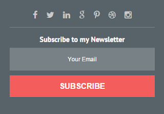 Best Email Subscribe Widget Design for Blogger 1