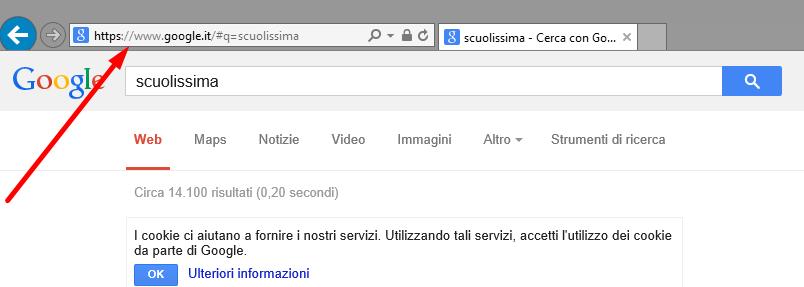 aa12349954 Cos'è la barra degli indirizzi del browser per inserire url • Scuolissima. com