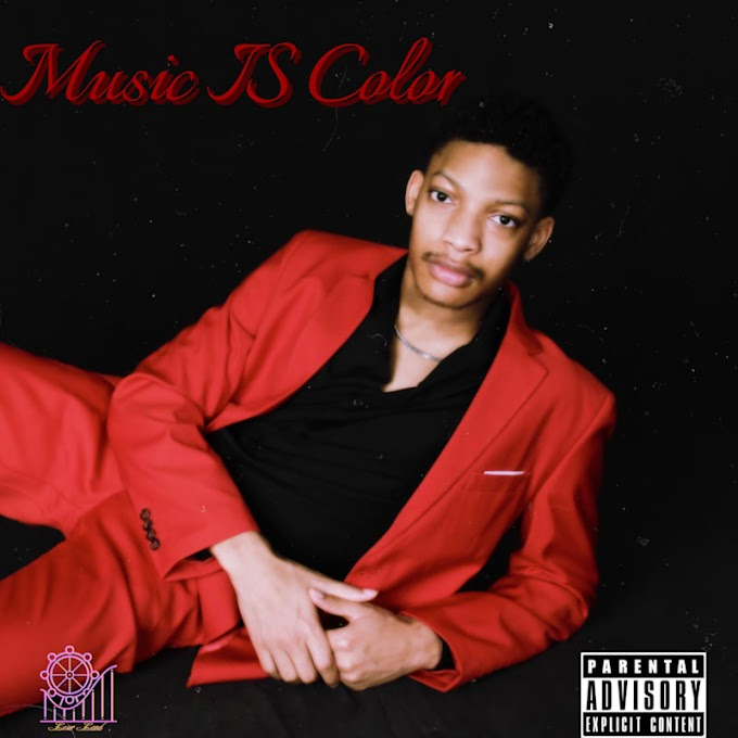 "Album of the day ""Music IS Color"" By Juśtin Discover it now!"