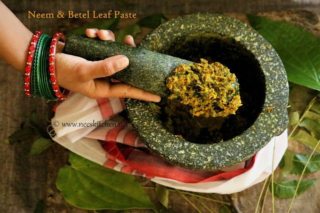 Neem & Betel leaf Paste – Heirloom Stomach Cleanser
