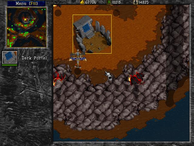 Warcraft 2 The Dark Portal Screenshot