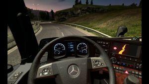 Custom Dashboard for Mercedes MP4