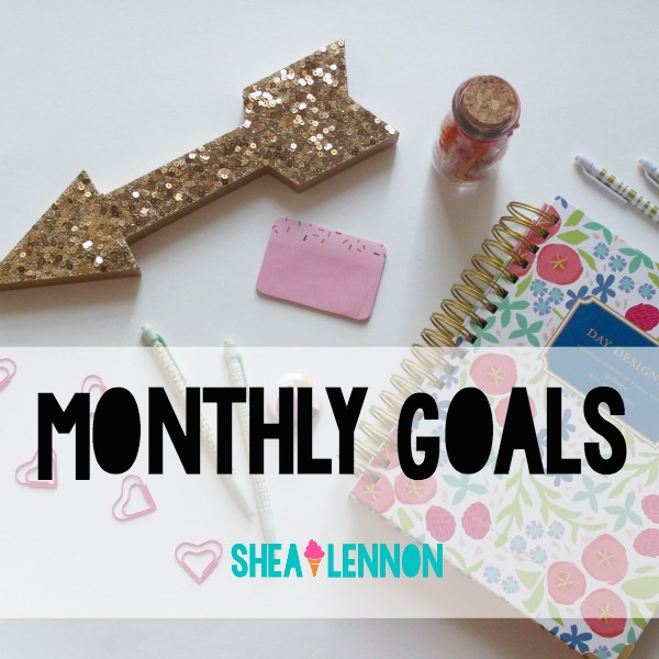Monthly Goals - February Goals and January Recap | www.shealennon.com