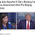 CORONAVIRUS. TT Trump Hỏi Thẳng Phóng Viên Có Phải Đang Làm Việc Cho Nhà Cầm Quyền China Không