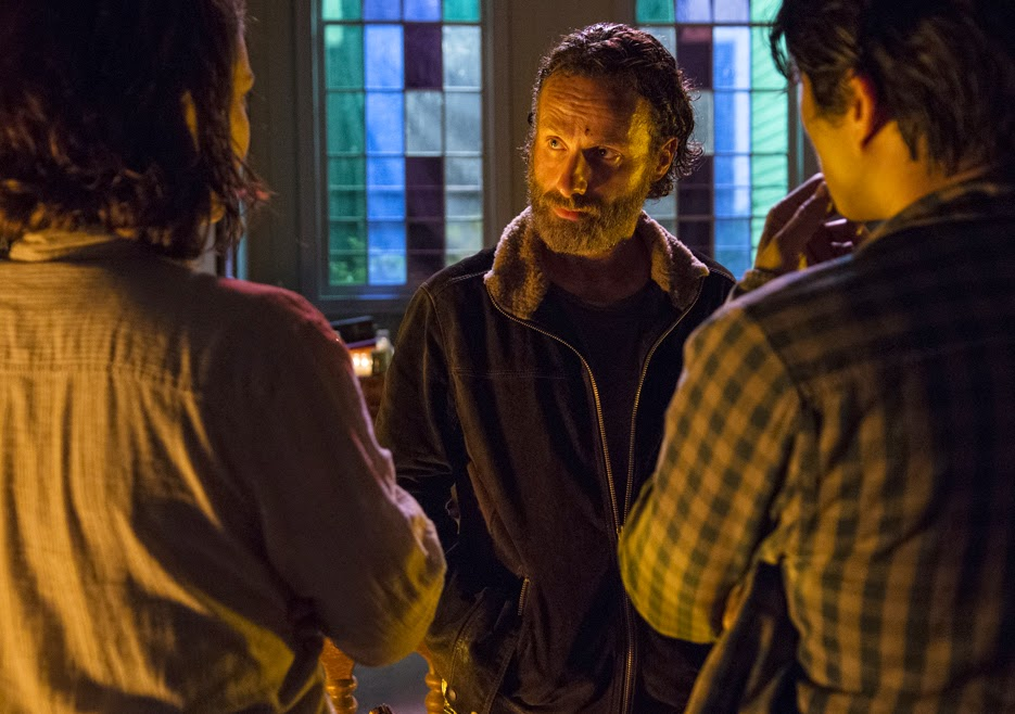 The Walking Dead - 5x03 - Un tetto e quattro mura (Four Walls and a Roof)