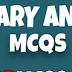 Judiciary and law MCQ