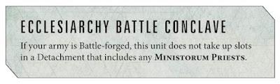 Reglas Sacerdotes del Ministorum