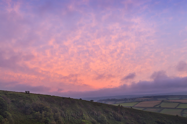 Sunrise photography at The Punchbowl in Exmoor National Park by Martyn Ferry Photography
