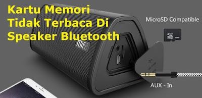 speaker bluetooth tidak bisa play musik dari sd card
