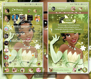 Princess Girl Theme For YOWhatsApp & KM WhatsApp By Thania