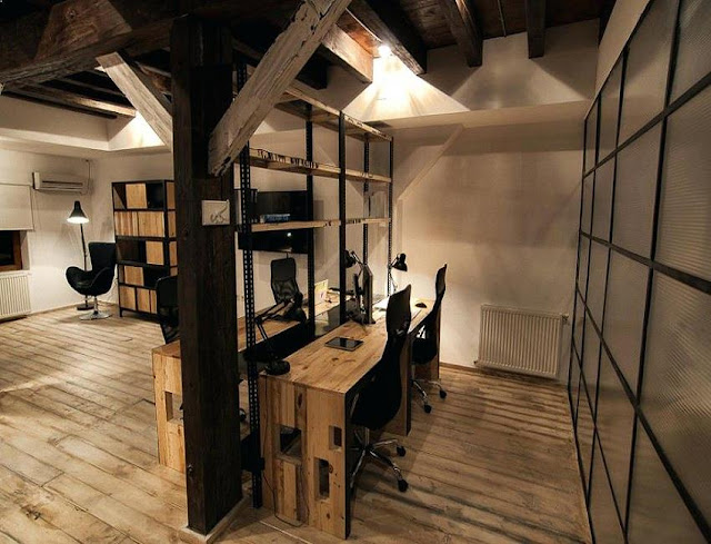 best buy urban rustic office furniture sets for sale online