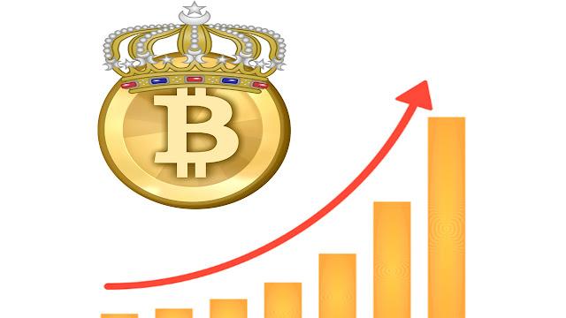 عملة البيتكوين تعود لارتفاع مجدد لتصل إلى 10000 دولار