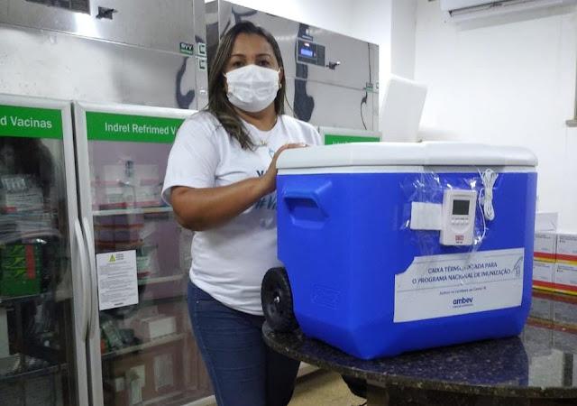 Barreiras recebe novo Lote de vacinas. Saiba quem poderá receber a vacina Oxford