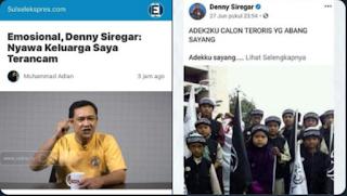 "Efek Kasus ""Santri Calon Teroris"", Denny Zulfikar: Nyawa Keluarga Saya Terancam"