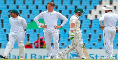 How many Test Matches will be played between Pakistan and South Africa in this series?